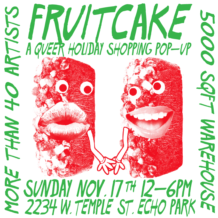 FRUITCAKE – Queer Holiday Shopping Pop Up