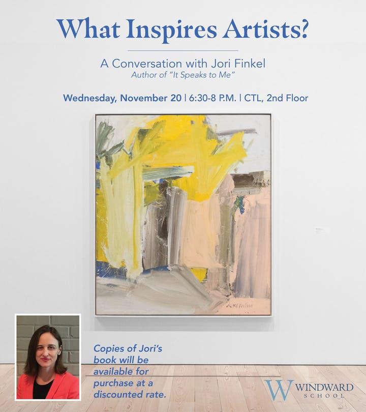 What Inspires Artists? A Conversation with Jori Finkel