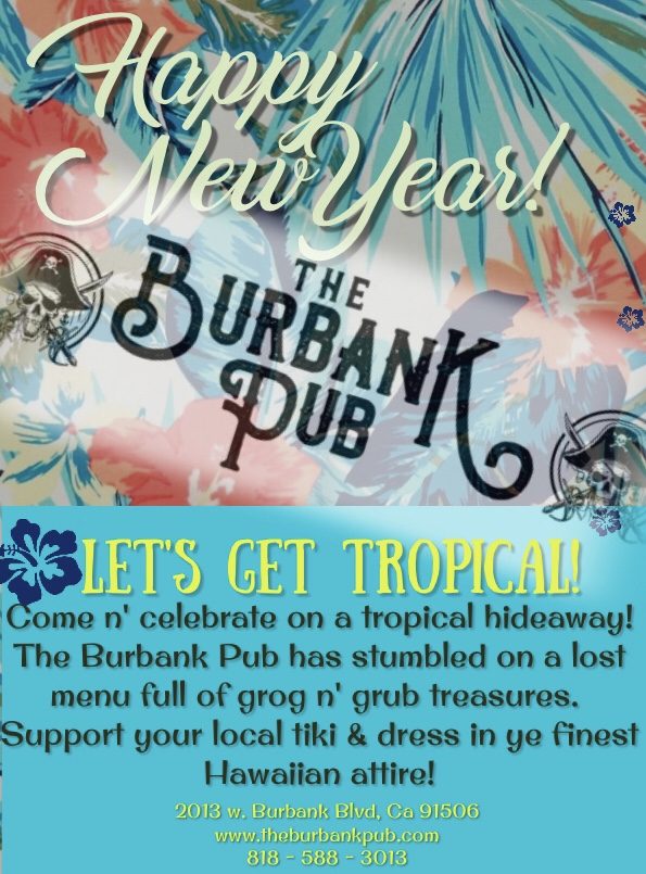 Let's get tropical New Years celebration!