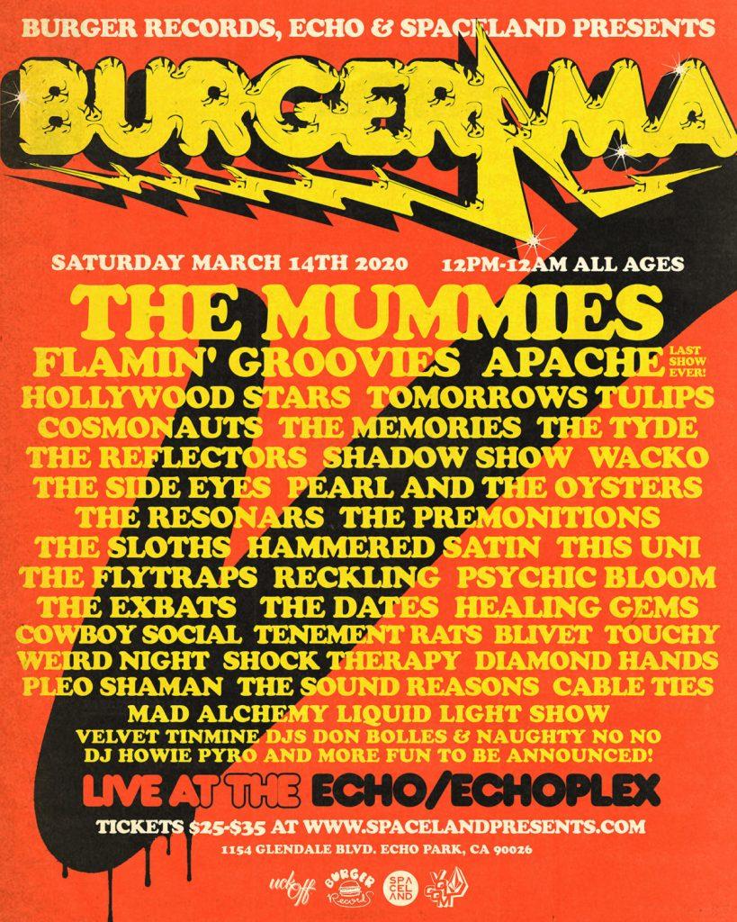 Burgerama 5 Presented by Burger Records, the Echo & Spaceland Presents
