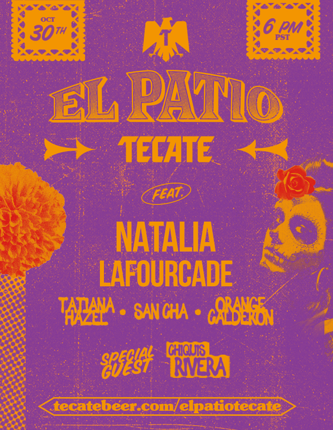 EL PATIO TECATE: Tecate's Free Latin Music Livestream Concert Series Returns October 30