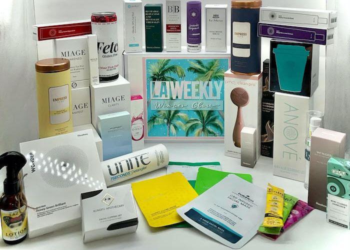 Self-care beauty box.