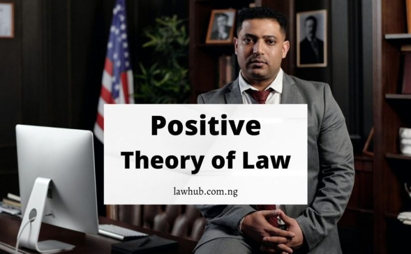 Positive Theory of Law and Arguments Against It