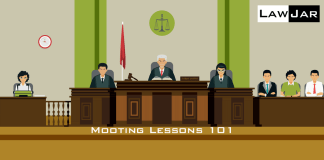 mooting lessons 101