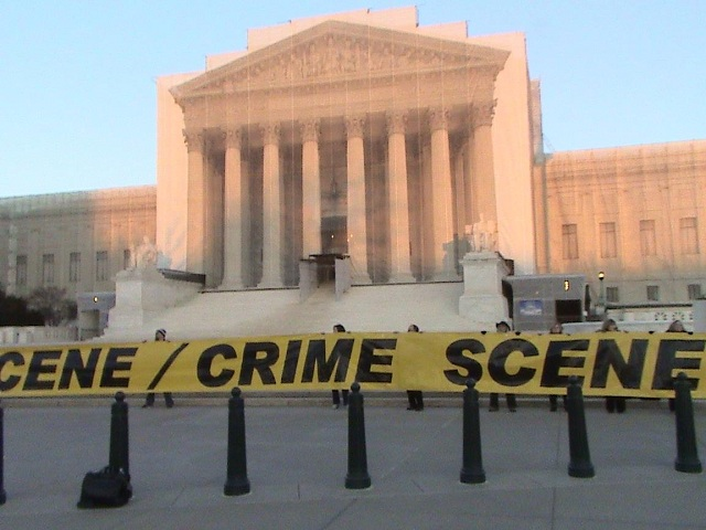 US Supreme Court Crime Scene