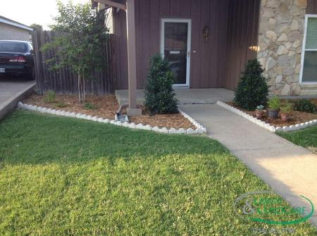 Carrolton Landscaping Design Installation