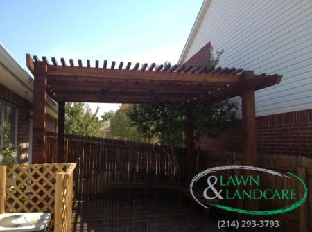 Pergola Installation Carrollton Texas