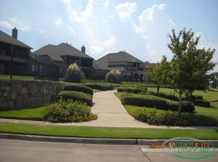 Beautiful landscape design from Lawn and Landcare - landscaping company in The Colony
