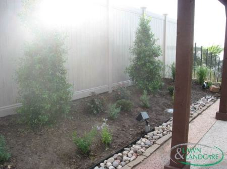 landscaping fence design allen tx
