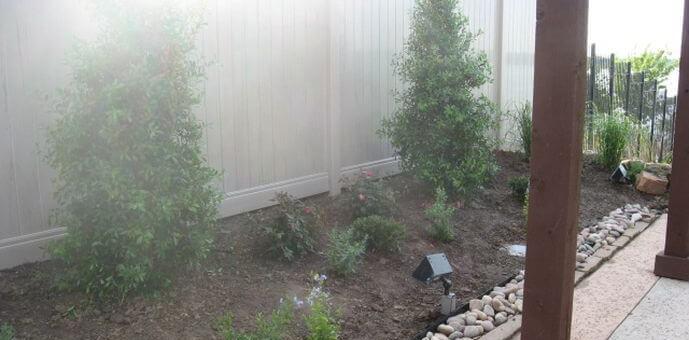 landscaping fence design allen tx