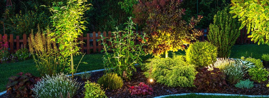 Landscape lighting lawn and landcare pool landscape lighting backyard lighting design and installation mozeypictures Image collections