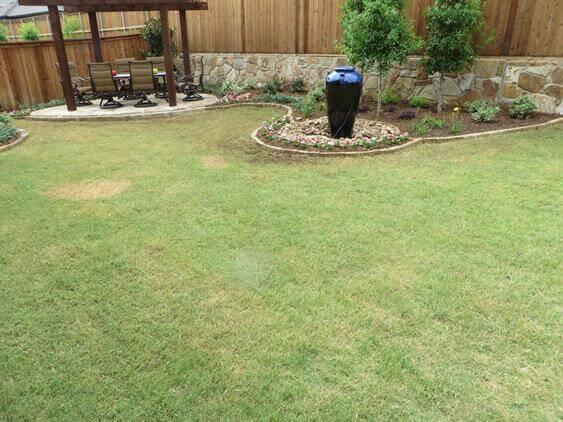 frisco landscape outdoor patio