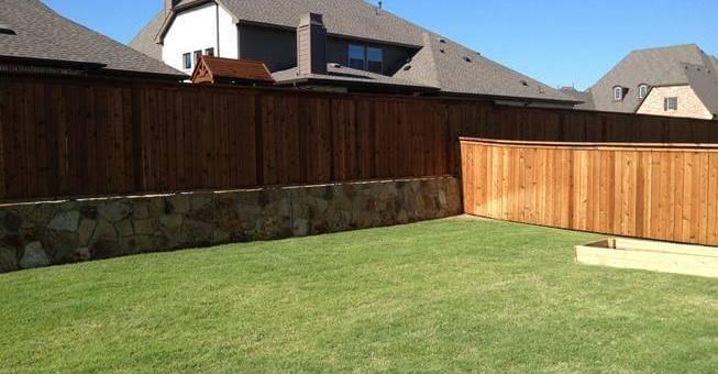 frisco texas yard examples