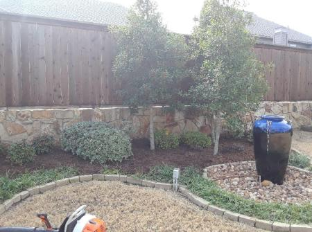 frisco texas landscape design