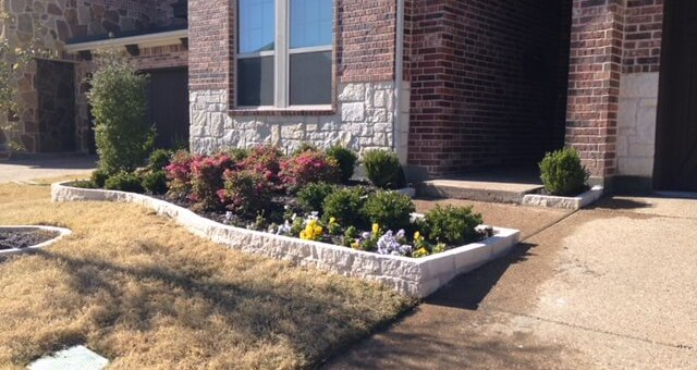 landscaping designs for north texas