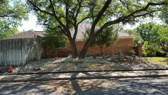 rock garden ideas in texas