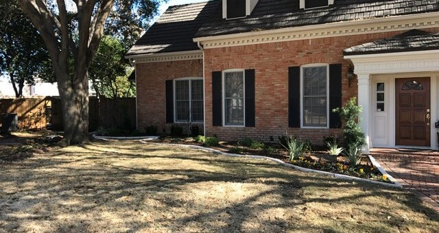 Plano TX landscaping design
