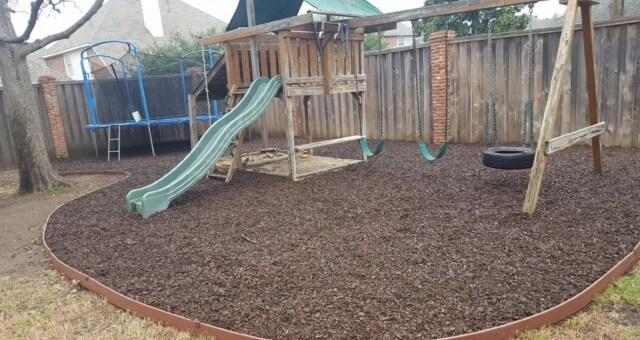 design landscape raised bed playground