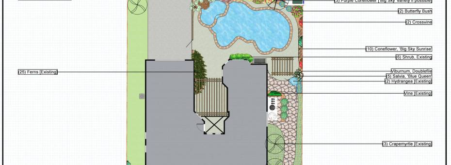 landscaping project in frisco, tx