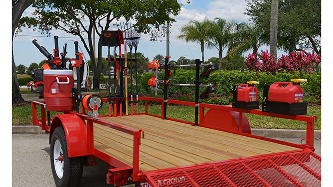 Equipment Defender Trailer Racks Lawn Amp Landscape
