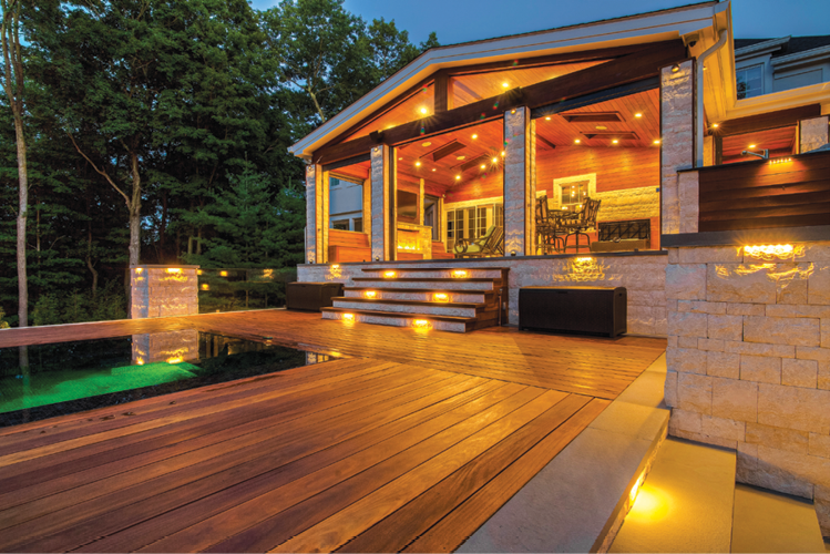 lighting the way lawn landscape
