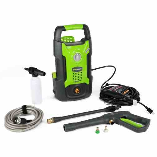 Green Works GW1501 Hand Carry Electric Pressure Washer