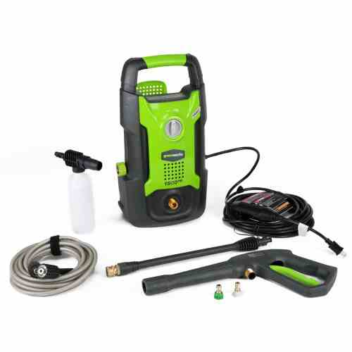 Green Works GW1702 Electric Pressure Washer