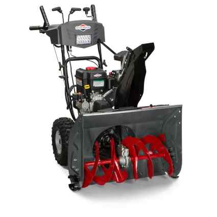 Briggs and Stratton 1696619 Dual-Stage Snow Thrower with 250cc Engine and Electric Start