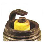 Spark Plug with Lead Fouling