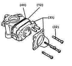 2-Cycle Carburetor Rebuilding Step 1