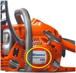 Husqvarna Chainsaw Model Number Location