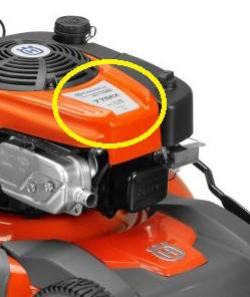 Husqvarna Engine Model Number Location