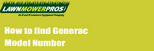 How to find Generac Model Number