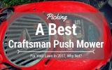 best-Craftsman-push-mower