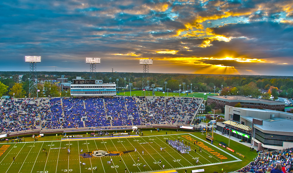 East Carolina stadium