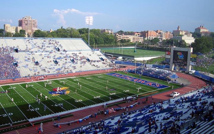 KU football stadium