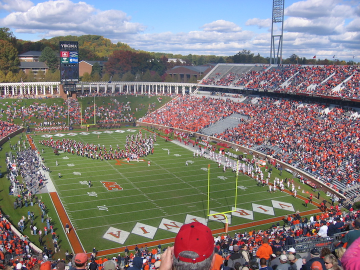 University of Virginia stadium