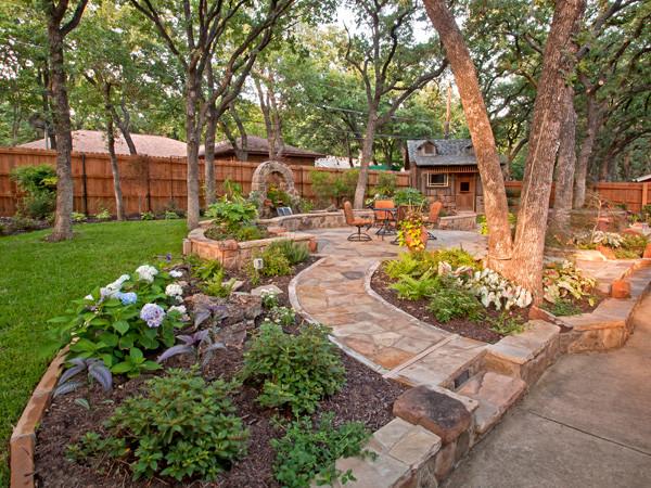 The Top 5 Hardscape Designs in the Granbury, TX Area ... on Backyard Hardscape Design id=50437