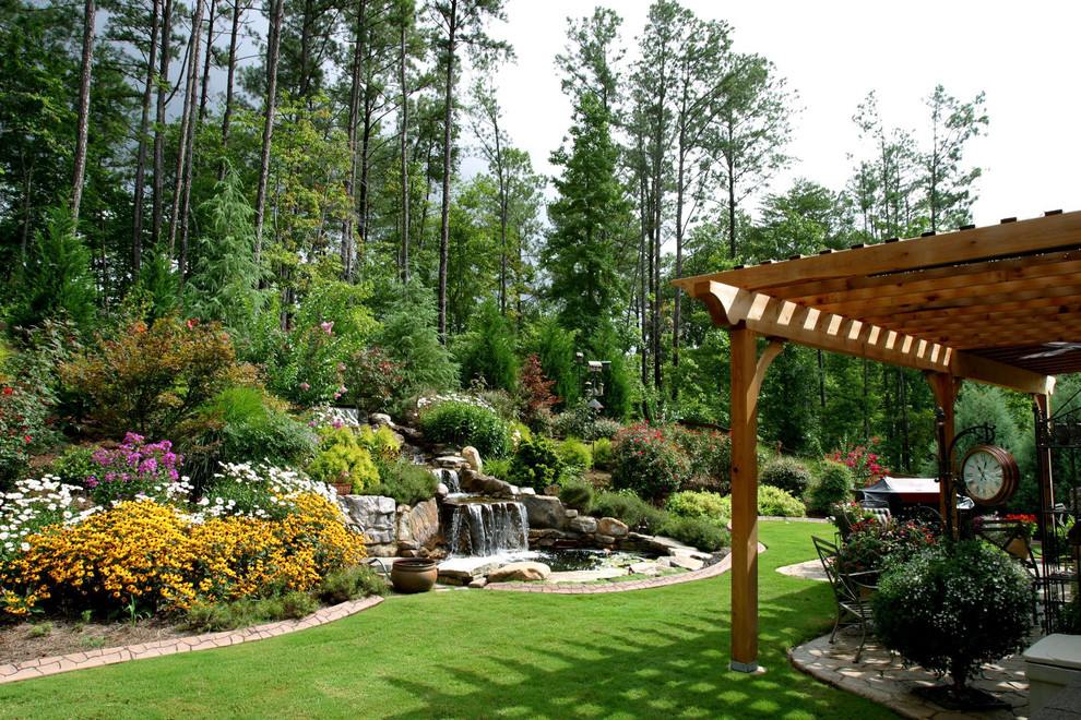 The Top 5 Hardscape Designs in Acworth, GA - Lawnstarter on Mountain Backyard Ideas id=69232