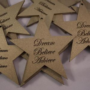 large star shape dream believe achieve