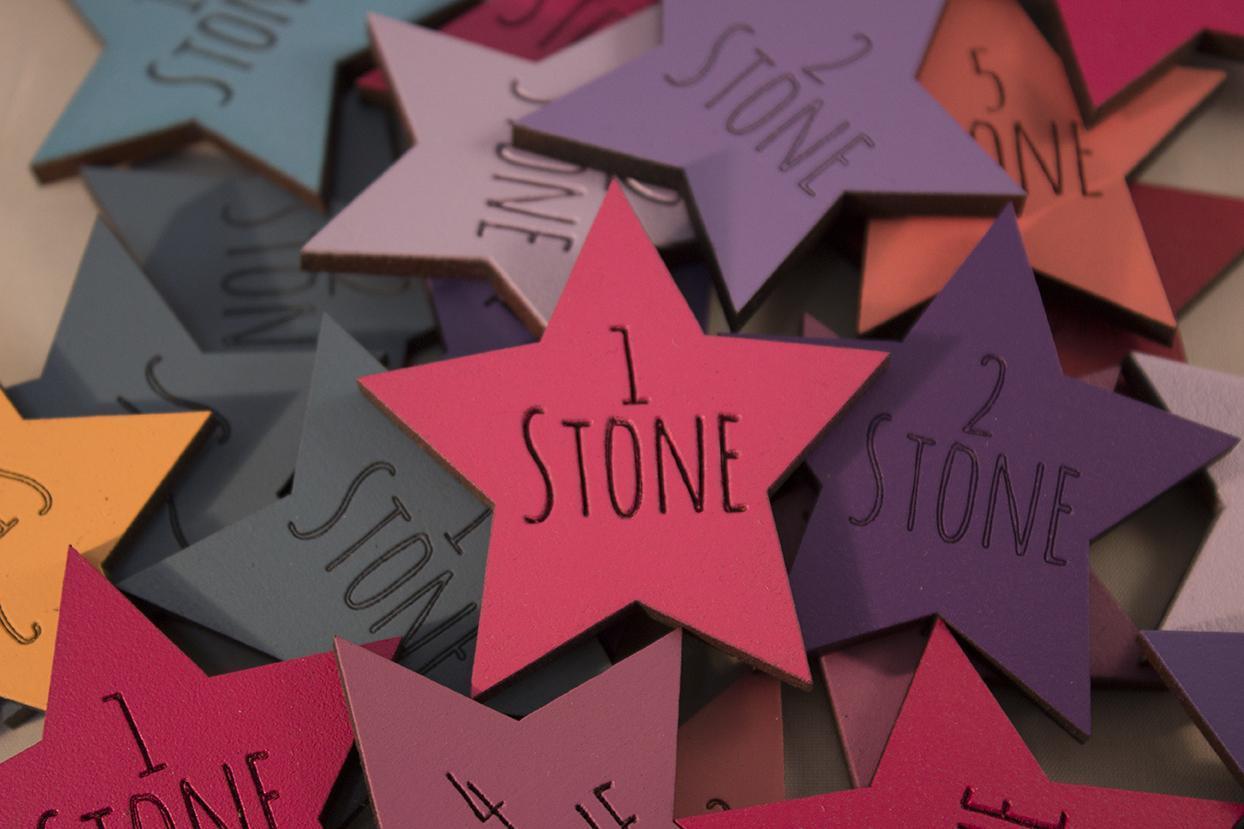 Amatic Font Stone Loss Star