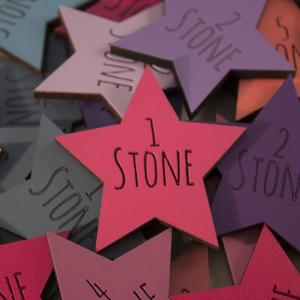 Amatic Font Stone Loss Star
