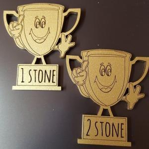 Trophy Shape Stone Loss