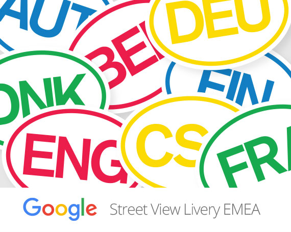 Google – Street View  Car Livery – Global