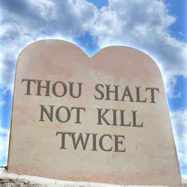 Thou Shalt Not Kill Twice (The Charlie Singer and Katie Walker Mystery Series Book 2)