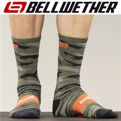 Bellwether Apparel Rock It Cycling Socks Orange