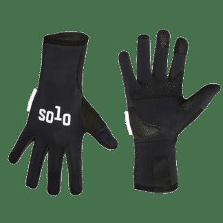Solo Glove Softshell LF Black
