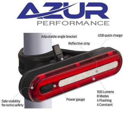 USB Alien 2 - 100 Lumens Rear Light