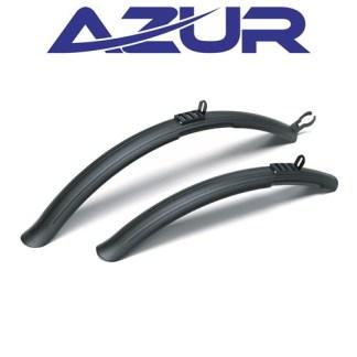 """Azur M5 MTB Clip-On Mud Guard Set - 24-29"""" Bike Mudguard"""