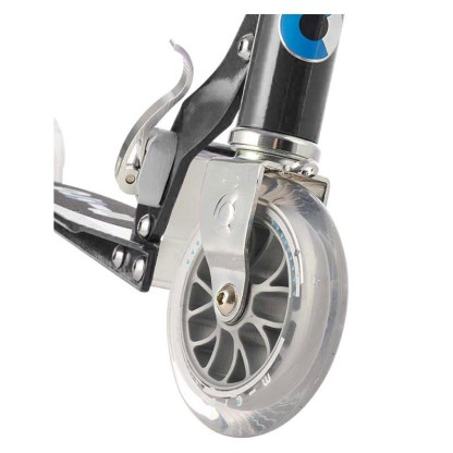 Micro Sprite 2 Wheel Scooter Black Front